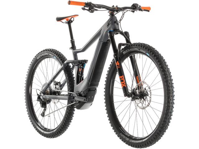 Cube Stereo Hybrid 120 HPC TM 500 E-MTB fullsuspension grå (2019) | City-cykler